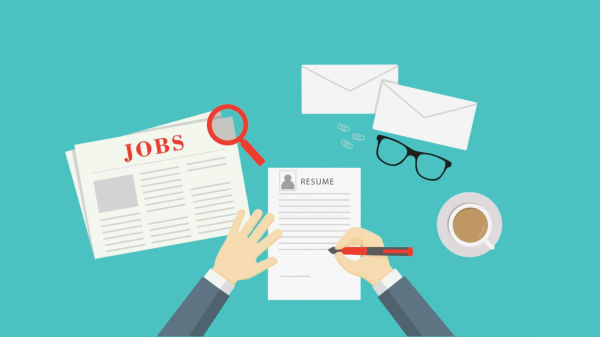 how to give a blog job for the first time